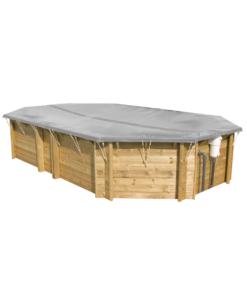 Winterabdeckung Holzpool